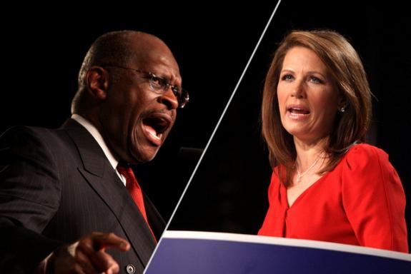 Herman Cain vs. Michele Bachmann
