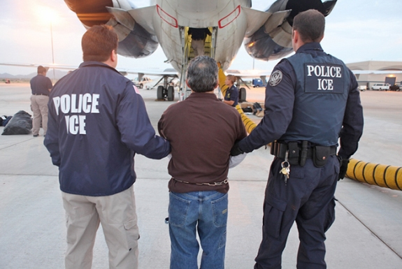 Immigration and Customs Enforcement Police (ICE)