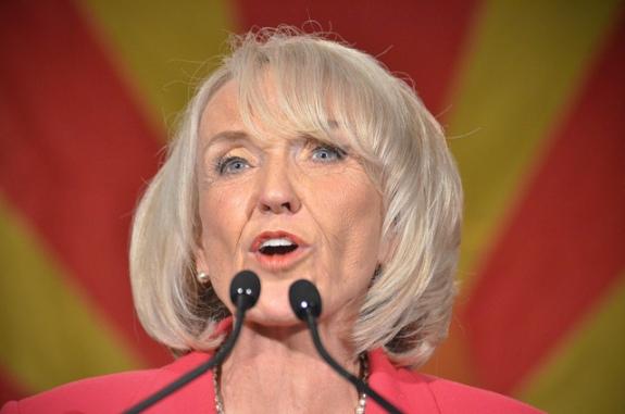 Arizona Governor Jan Brewer
