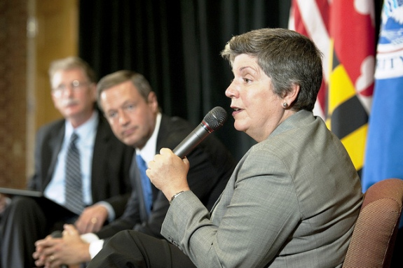 Department of Homeland Security Secretary, Janet Napolitano
