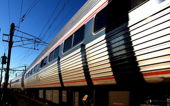 Amtrak Train Headed to Boston