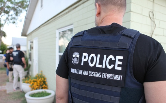 Immigration and Customs Enforcement Police
