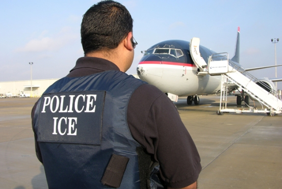 Immigrations Customs Enforcement (ICE) Police