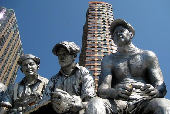 Labor Day Statue