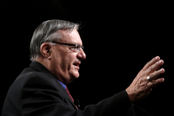 Maricopa County, Arizona Sheriff, Joe Arpaio