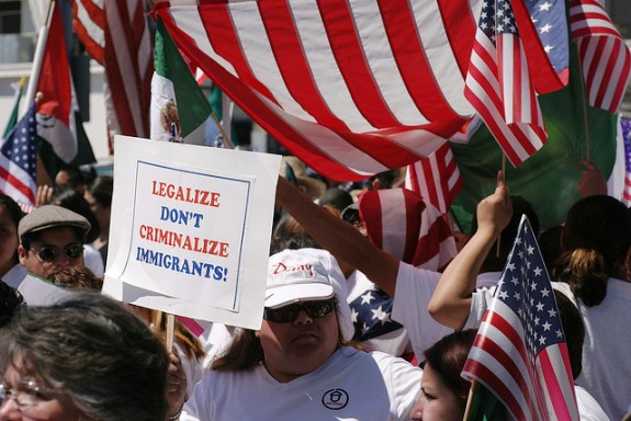 Protestors for Immigration Reform