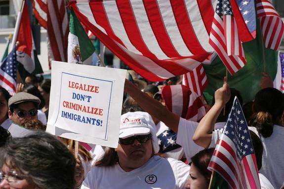 Protestors for Immigration Reform