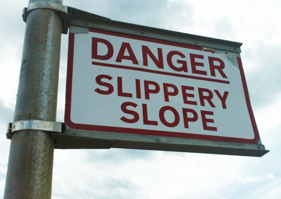 Danger, Slippery Slope