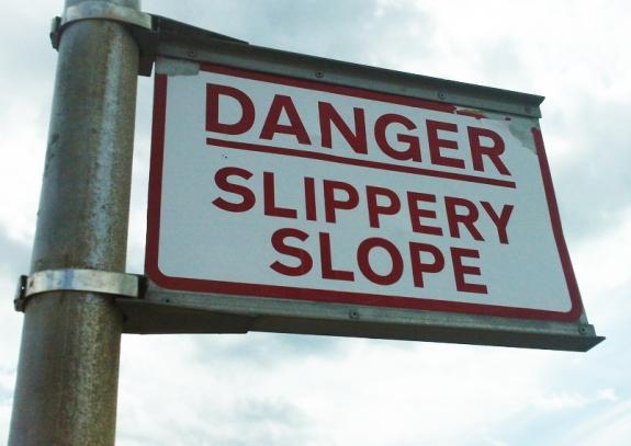 Danger, Slippery Slope