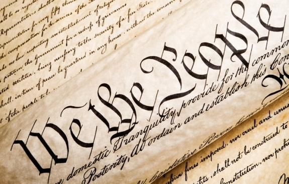 The Header of the United States Constitution