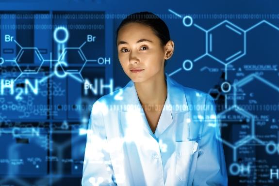 Female Scientist